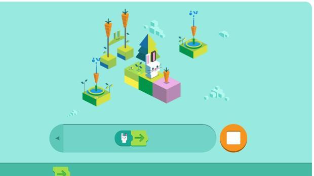 El doodle de Google celebra los 50 años de los lenguajes de programación para niños