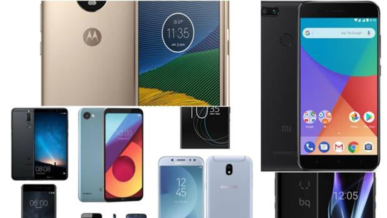 Los mejores «smartphones» de gama media y «low cost» de 2017