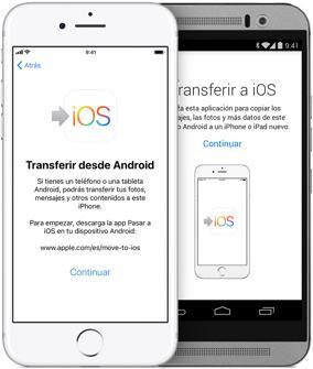 Cómo transferir los datos de tu móvil iOS a Android (y viceversa) sin perder nada