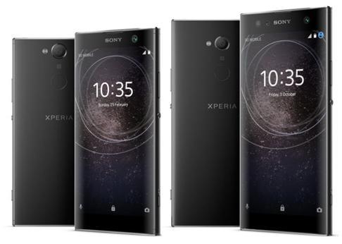 Sony presenta sus nuevos «smartphones» Xperia XA2, que incluye doble cámara frontal en el modelo Ultra