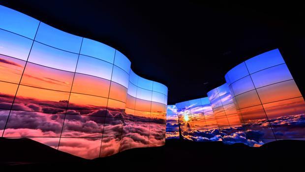 Detalle de un stand de LG en la pasada feria de la tecnología