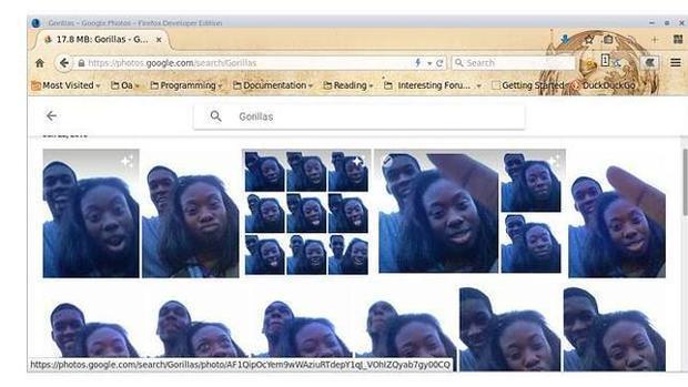 Así soluciona Google Photos su «algoritmo racista»: eliminando de su base de datos a gorilas y monos