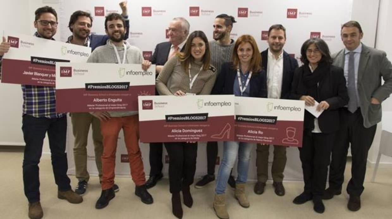 Infoempleo entrega los galardones en I edición de los Premios Blogs 2017