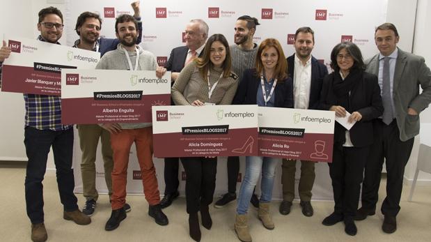 Infoempleo entrega los galardones en la I edición de los Premios Blogs 2017