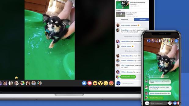 Compartir vídeos en directo solo con grupos, la nueva función de Facebook