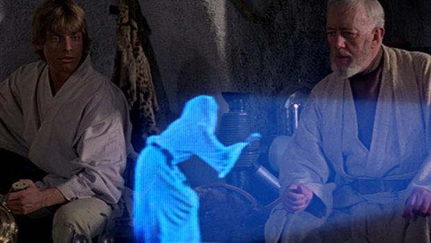 Fotograma de la película «Star Wars - A New Hope»