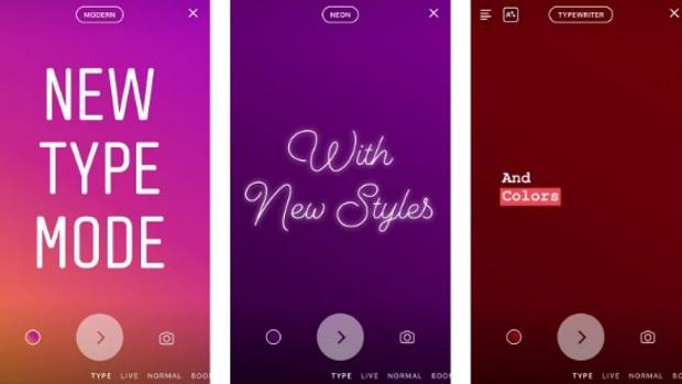 Instagram incorpora el modo «Escritura» en sus «stories»