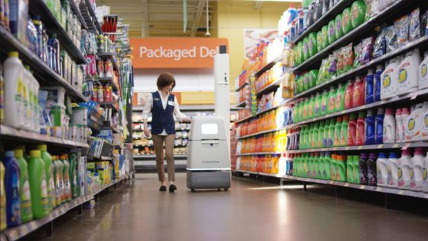 Así son los «robots reponedores» de Walmart: un 50% más productivos que los humanos