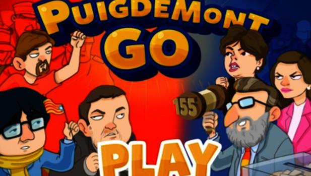 Puigdemont Go!, un videojuego móvil para «ayudarle» a regresar a Barcelona