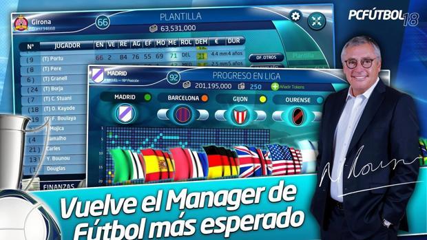 PC Fútbol 2018 asalta a los móviles Android