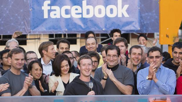 Mark Zuckerberg en su salida a Bolsa