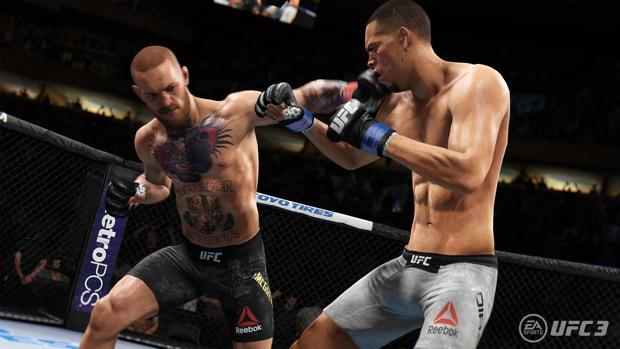 UFC 3: menos accesible, pero con el mismo espectáculo visual