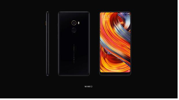 Detalle del Xiaomi Mi Mix 2, actual buque insignia de la marca china