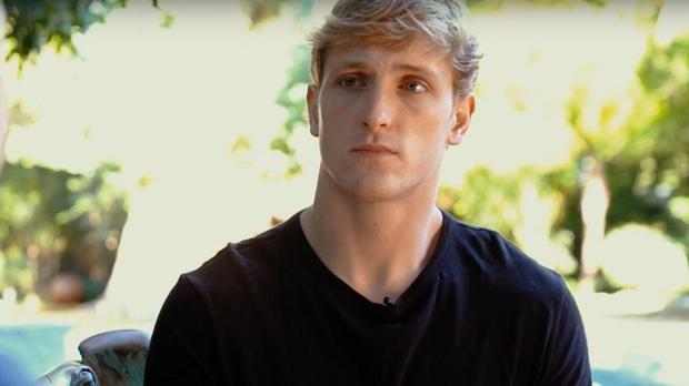 El «youtuber» Logan Paul