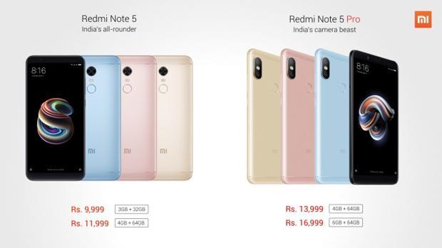 Xiaomi Redmi Note 5 Pro apuesta por un móvil sin bordes, con doble cámara y su seña de identidad