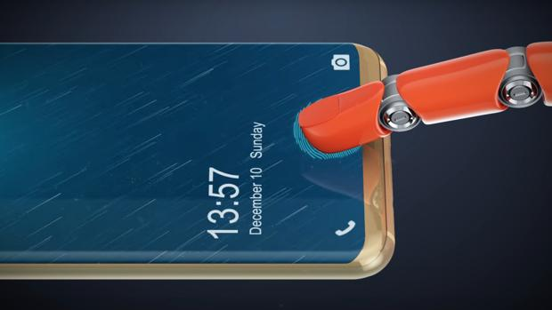 Doogee V, un «smartphone» que se abre con el dedo sobre la pantalla