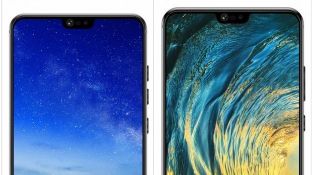 Diseño conceptual filtrado recientemente del posible Huawei P20, aún sin confirmar sus características