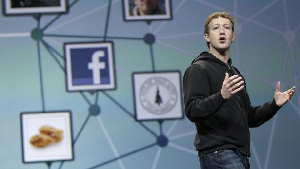 Mark Zuckerberg, fundador de Facebook, en una comparecencia