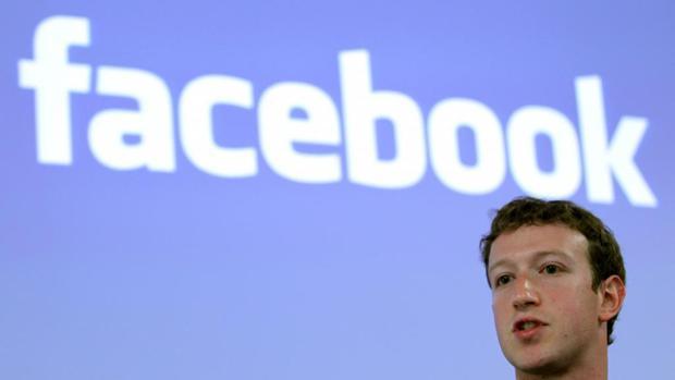 Mark zuckerberg, fundador de Facebook, en una conferencia