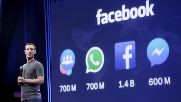 Mark Zuckerberg, fundador de Facebook, durante una conferencia pasada