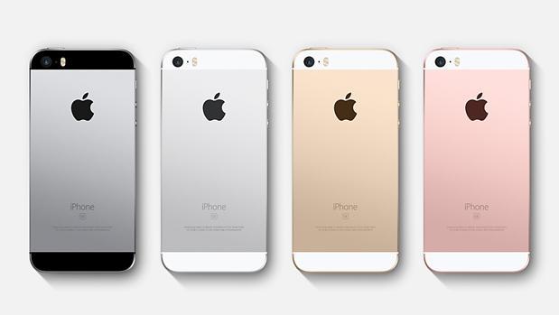 Eñ actual modelo del iPhone SE