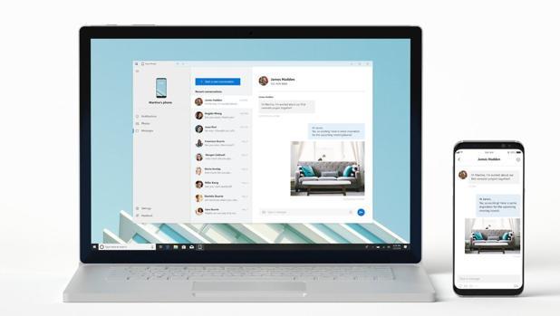 Your Phone, la aplicación con la que los móviles pueden ser gestionados desde la pantalla del ordenador