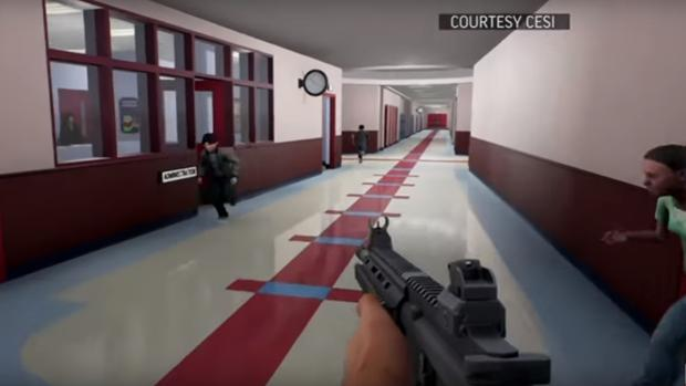 El videojuego «Active Shooter» permite al jugador ponerse en la piel de un tirador en una escuela