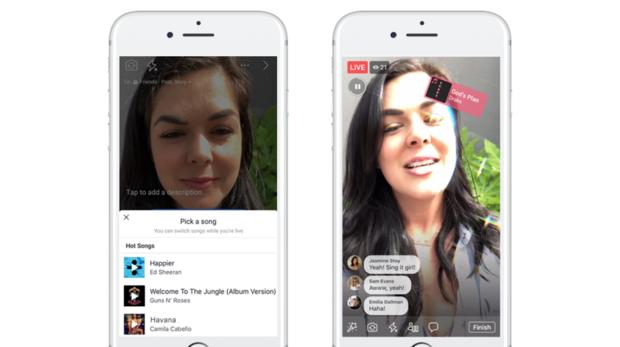 Facebook lanza su propio karaoke: así puedes cantar los temas originales de Ed Sheeran o Camila Cabello