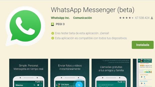 ¿Quieres ser el primero en tener todas las novedades de WhatsApp? Conviértete en un «beta tester»