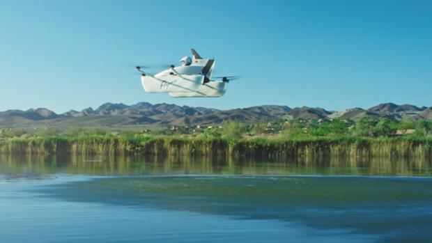 El revolucionario coche volador del fundador de Google surca por fin los cielos