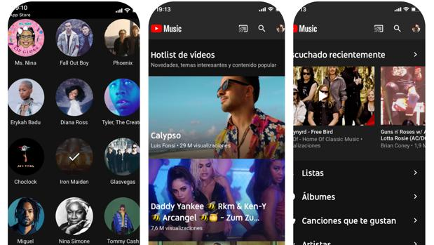 YouTube Music, un nuevo intento contra Spotify y Apple Music