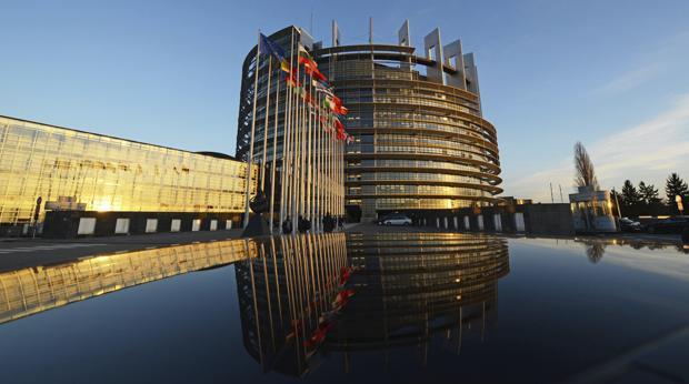 Fachada del edificio del Parlamento Europeo