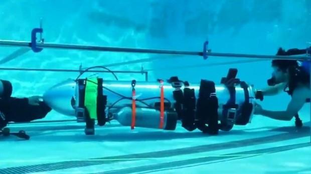 La cápsula de salvamento diseñada por Musk para los menores atrapados en la cueva de Tailandia