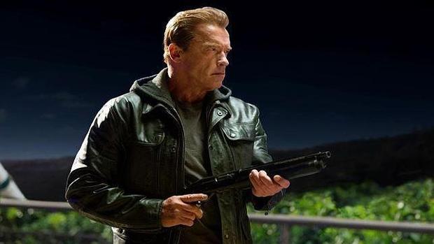 Arnold Schwarzenegger en una escena de «Terminator»