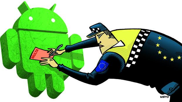 Por qué la Unión Europea multa con 4.340 millones de euros a Google