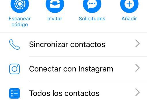 Así aparece ahora la opción para sincronizar Messenger e Instagram
