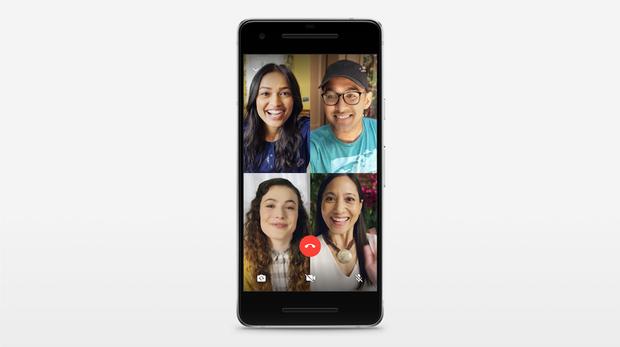 Ya puedes realizar videollamadas grupales en WhatsApp con hasta cuatro personas
