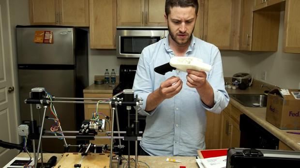 Eficaces y letales: así son las pistolas 3D que se pueden imprimir desde casa