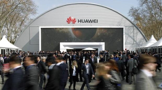 Stand de Huawei en el MWC 2018