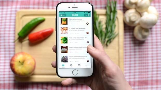Llega Olio, una app para compartir comida entre vecinos