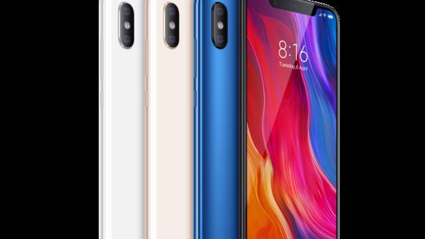 Xiaomi Mi 8 está disponible en cuatro colores