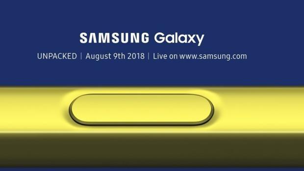 Samsung Galaxy Note 9: siga en directo la presentación desde Nueva York