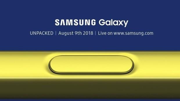 Samsung Galaxy Note 9: dónde ver la presentación y seguir en directo la cita