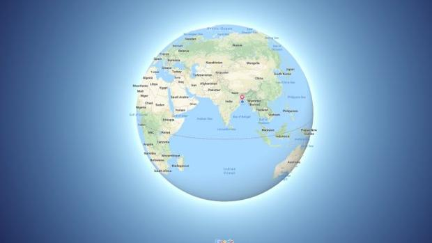 Google Maps, contra los «terraplanistas»