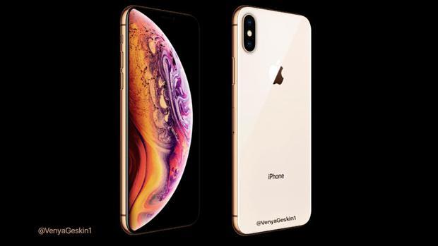 Diseño conceptual de uno de los posibles iPhone