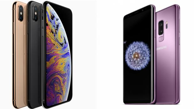 iPhone XS frente al Samsung Galaxy S9 Plus: ¿en qué se diferencian?