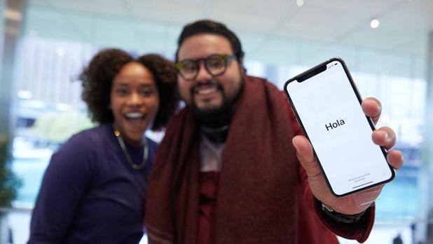 Compradores del iPhone X en 2017