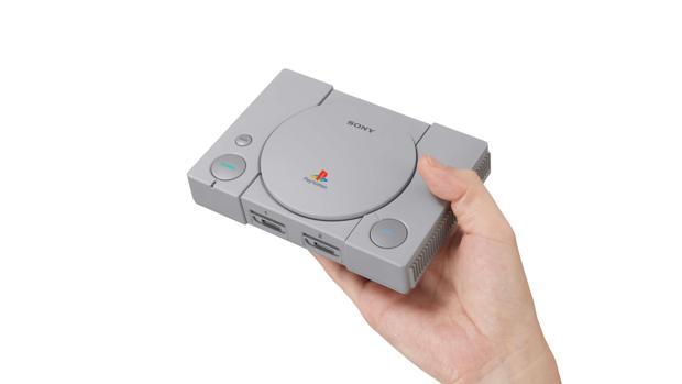 Sony sucumbe a la fiebre de la nostalgia con PlayStation Classic Mini
