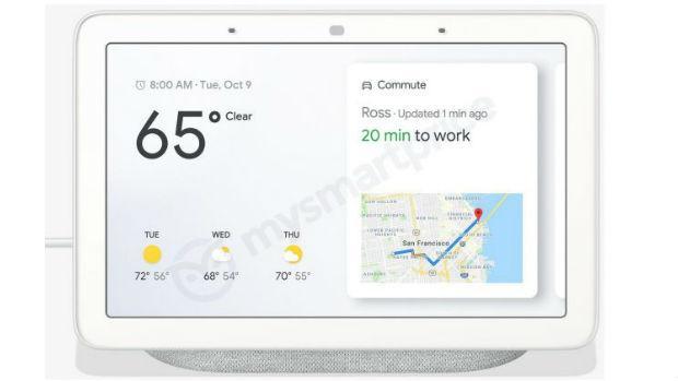La pantalla de Google Home Hub