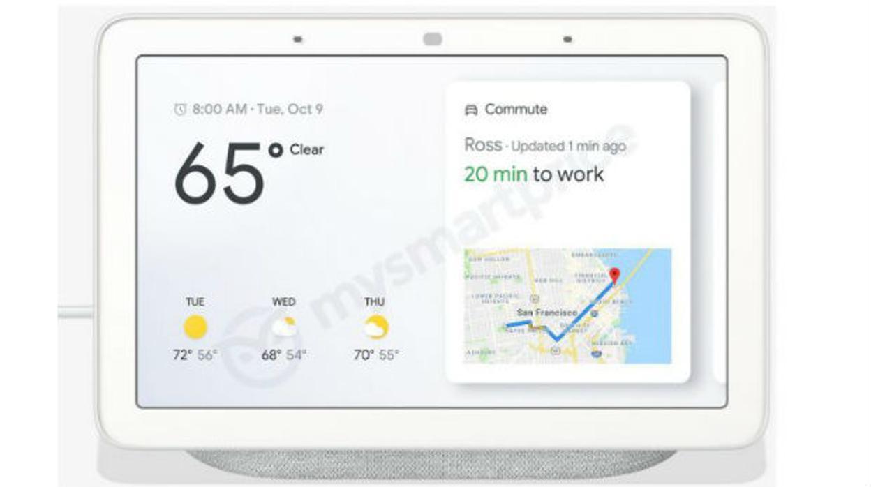 Así es el altavoz inteligente con asistente de Google